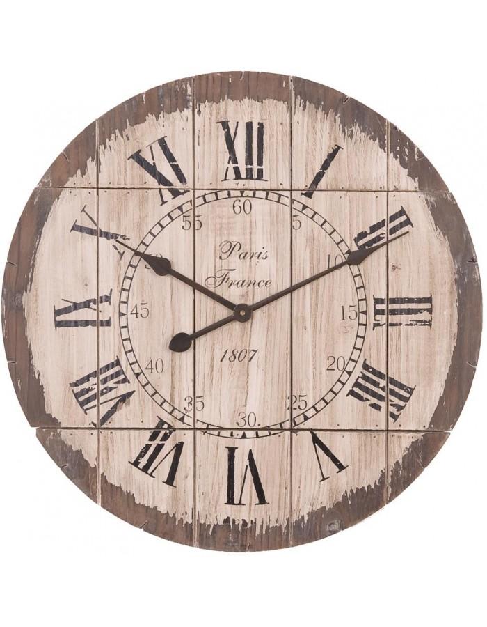 Uhr Ø 60 cm Wanduhr Paris 1807 Clayre Eef | fotoalben-discount.de