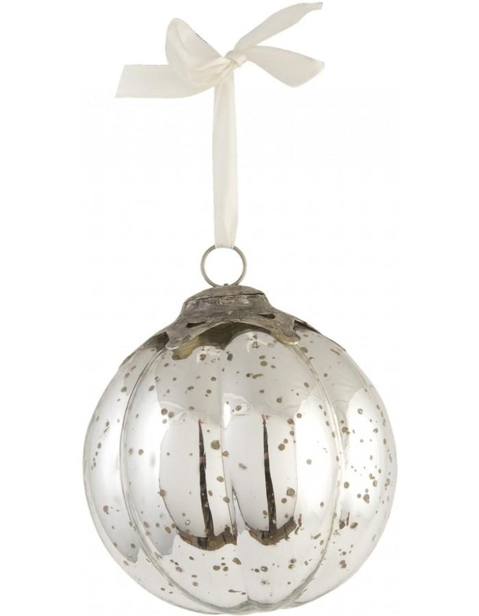 Clayre Eef Vintage Weihnachtskugel silber Ø 12 cm | fotoalben ...