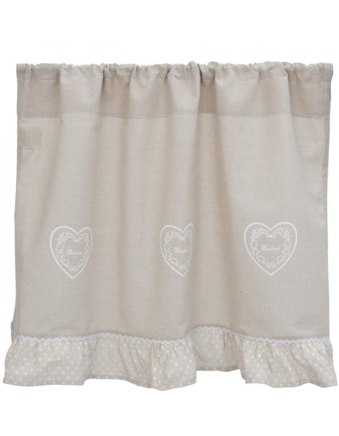 curtain natural - KT058.036 Clayre Eef