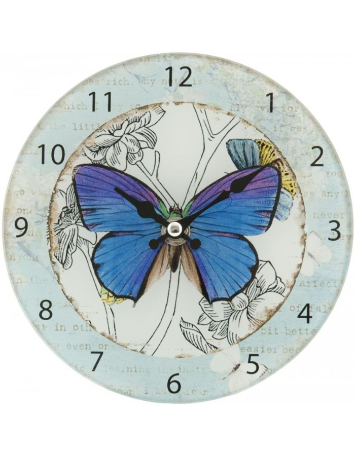 clock Butterfly - 6KL0262 Clayre Eef