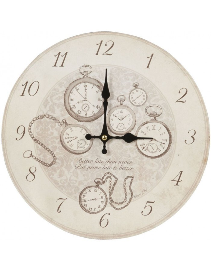 clock Clocks - 6KL0246 Clayre Eef