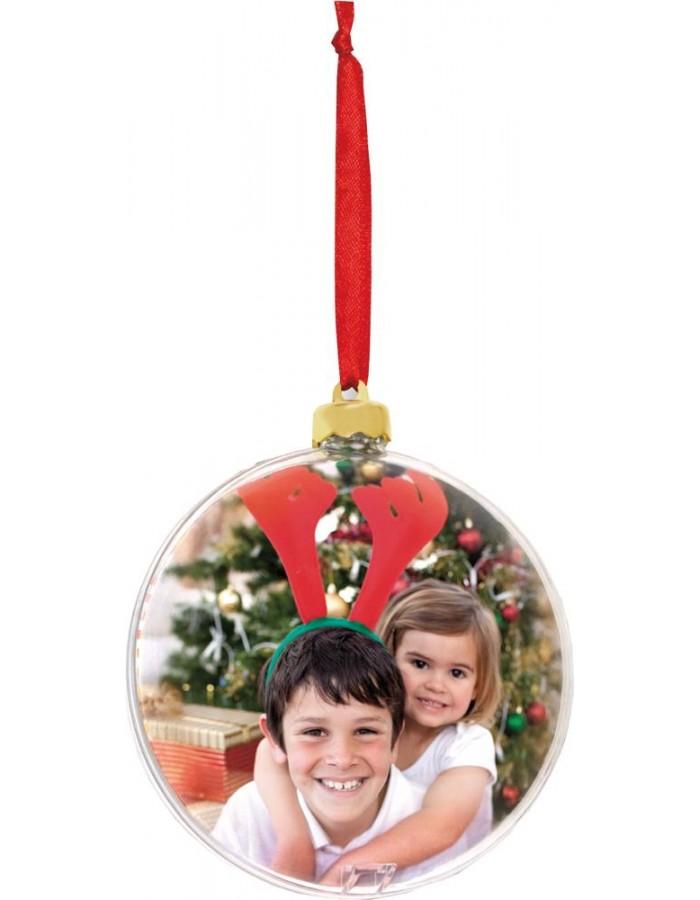ZEP Weihnachtsbaum - Anhänger Kugel für 1 Foto   fotoalben-discount.de
