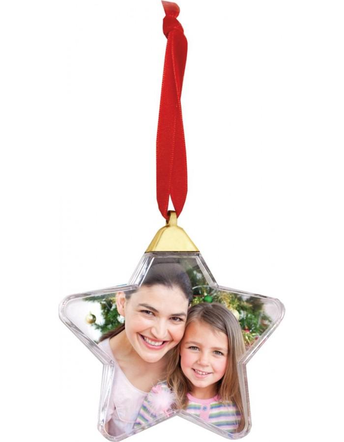 Stern Auf Weihnachtsbaum.Zep Weihnachtsbaum Anhänger Stern Für 1 Foto Fotoalben Discount De