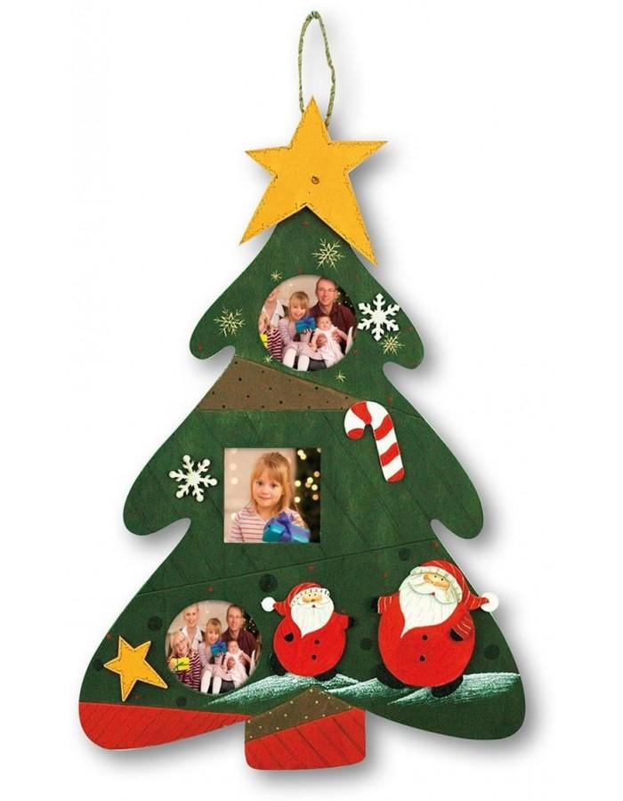 zep weihnachtsbaum rahmen f r 3 fotos 29x42 cm fotoalben. Black Bedroom Furniture Sets. Home Design Ideas