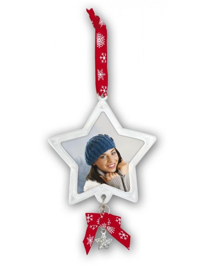 Anhänger Weihnachtsbaum mit Foto | fotoalben-discount.de