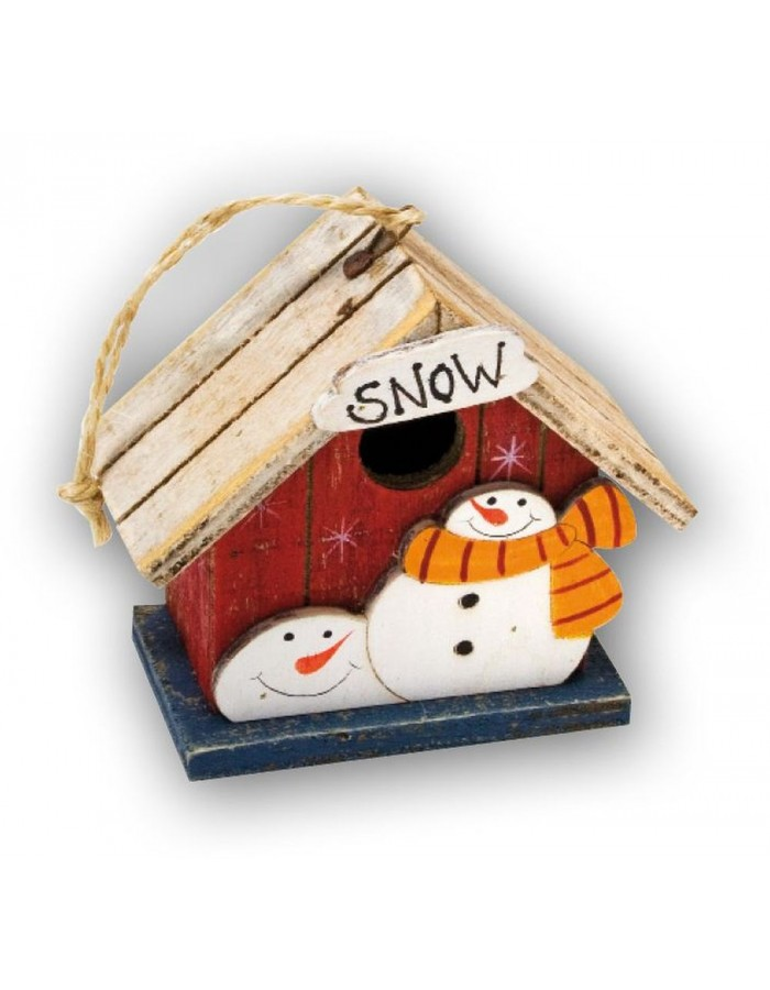 KH409 ZEP Weihnachts-Häuschen zum Dekorieren mit Schnee ...