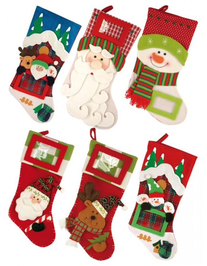 Walther Christmas Stocking With Photo Frame Fotoalben Discountde