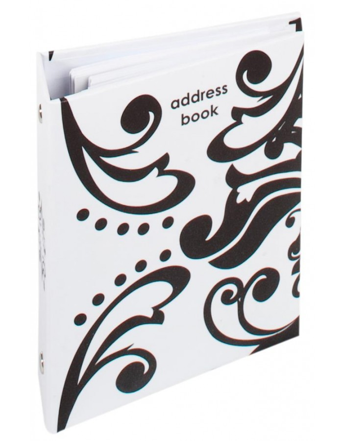 Zahra Ring binder - address book