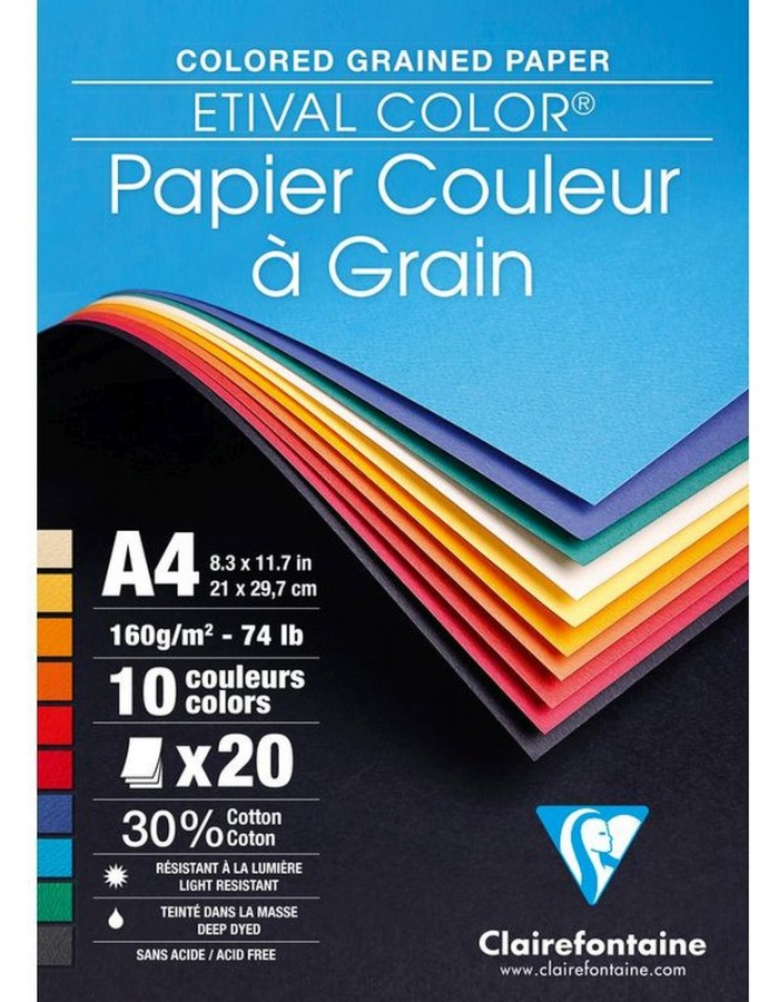 Block Tonzeichenpapier MALIDOR 30 Blatt A4