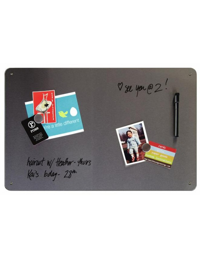 beschriftbares Magnetboard DRY ERASE 38x60 cm three by three Seattle