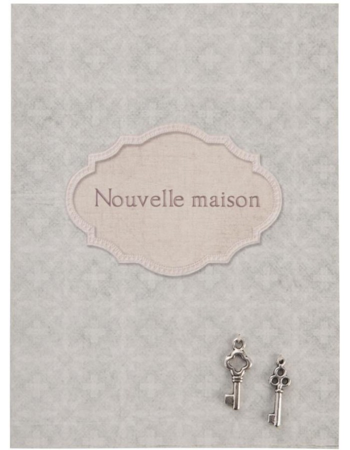 classy greeting card French 10x13,5 cm