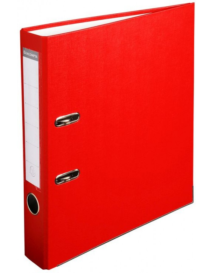 A4 50mm PP red folder