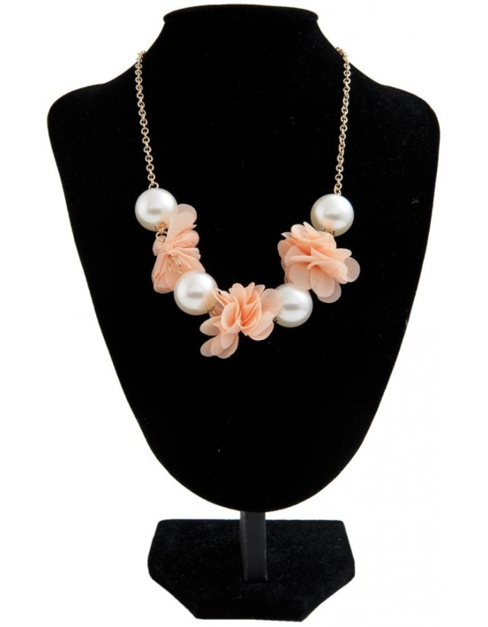 necklace salmon B0300591 Clayre Eef