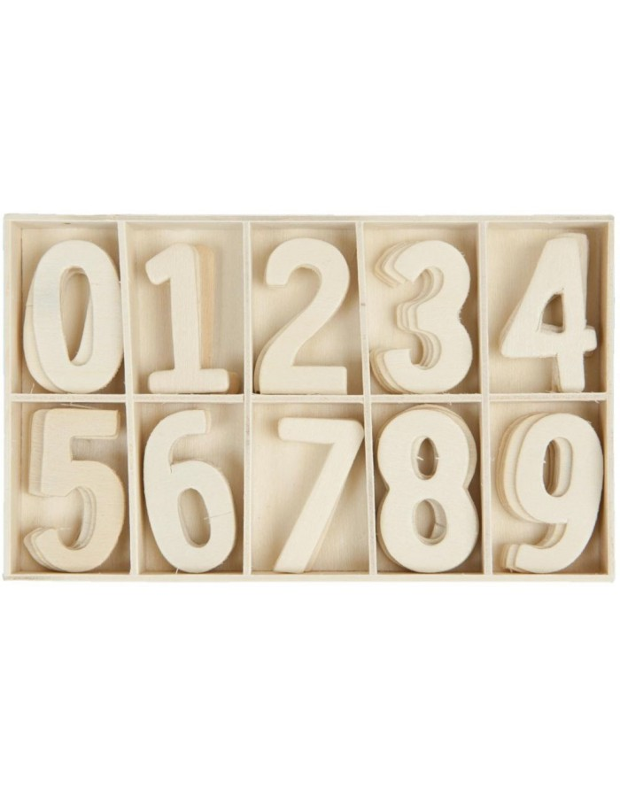 62957 Clayre Eef box with numbers