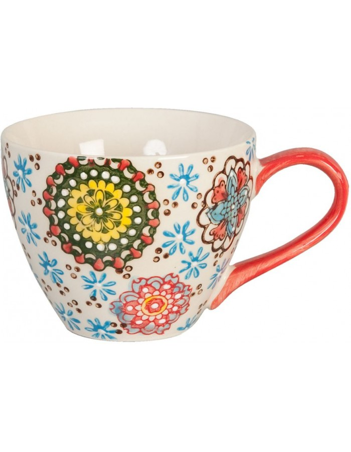 6CE0089 Clayre Eef MANDA cup - colourful