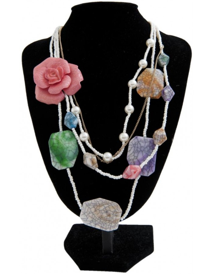 necklace colourful B0300605 Clayre Eef