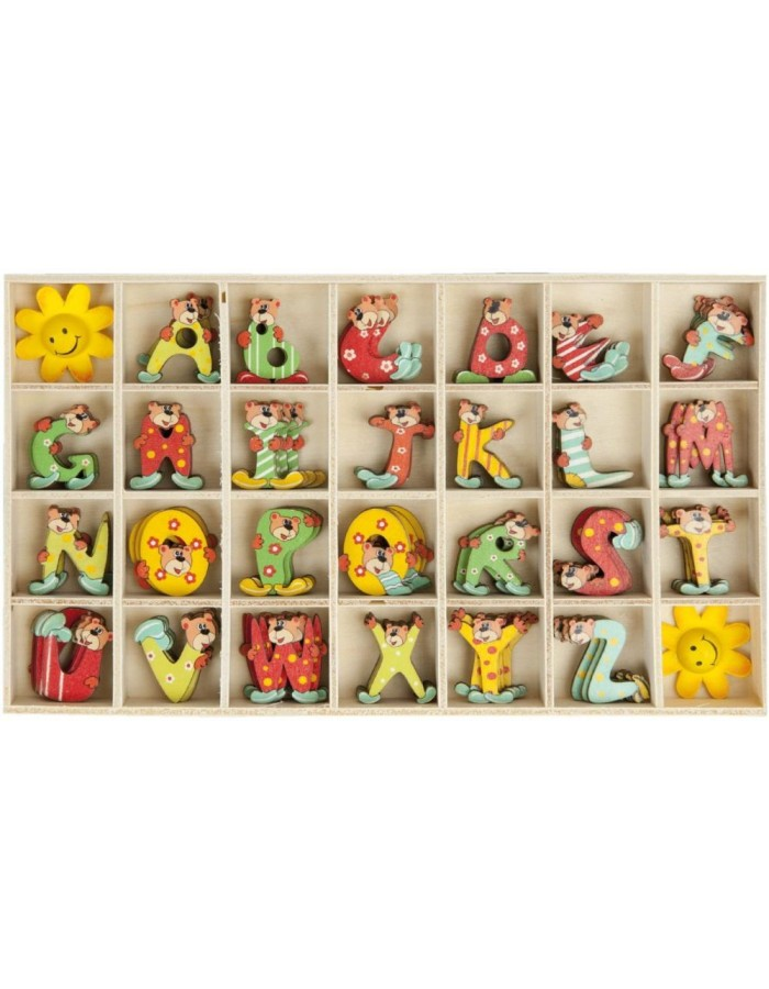 62960 Clayre Eef box with animal letters