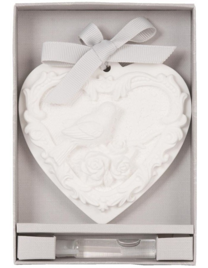 62966B Clayre Eef Duftstein Rose in Geschenkbox