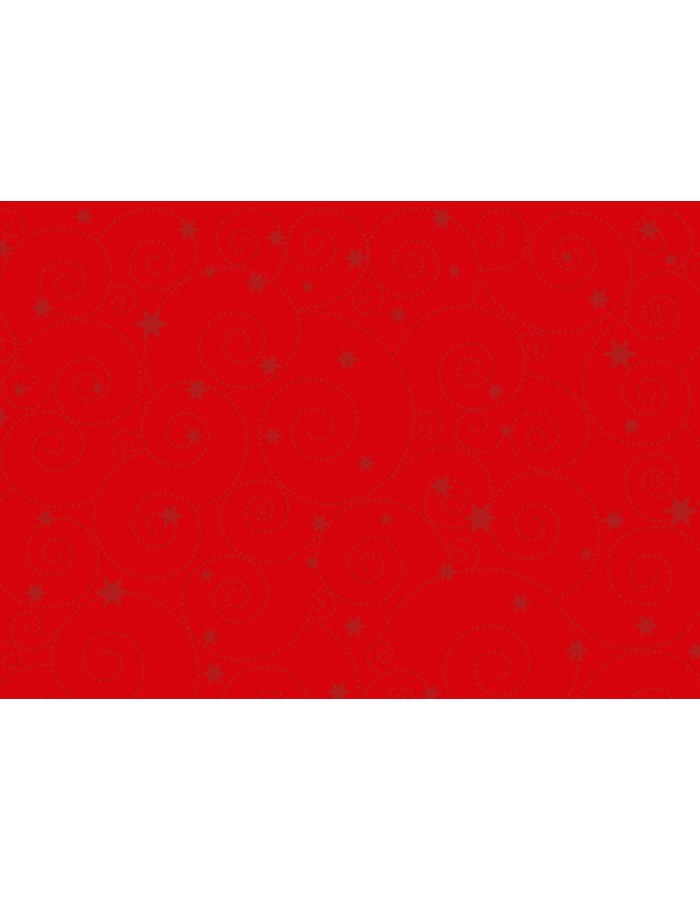 Papier 50x70cm Ornament Sterne rot rot