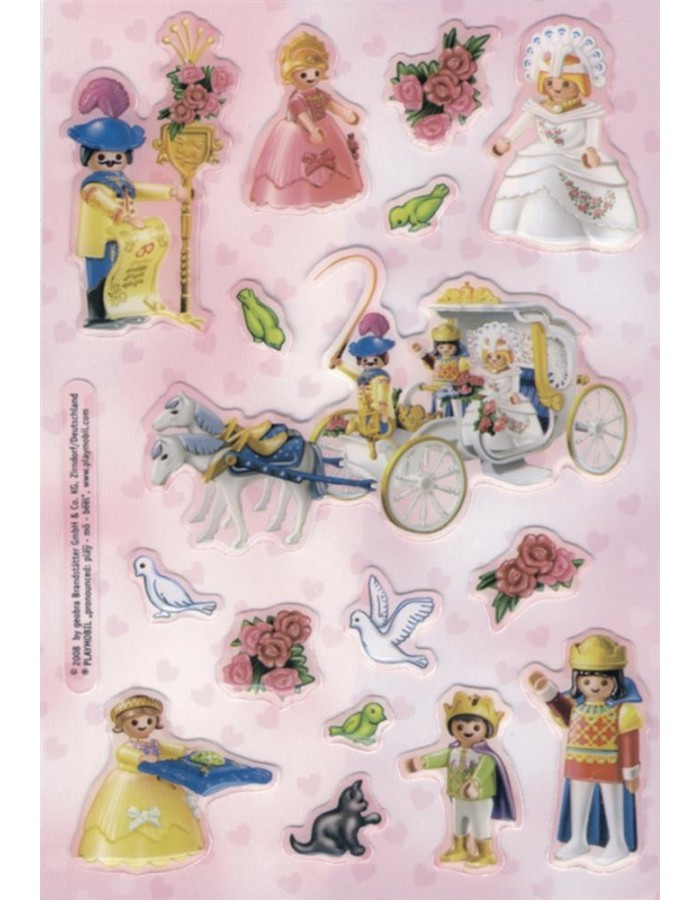 Sticker Playmobil Prinzessin, Stone