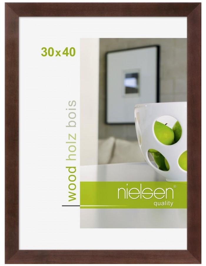 Essential wooden frame 42x59,4 cm rosewood Nielsen | fotoalben ...