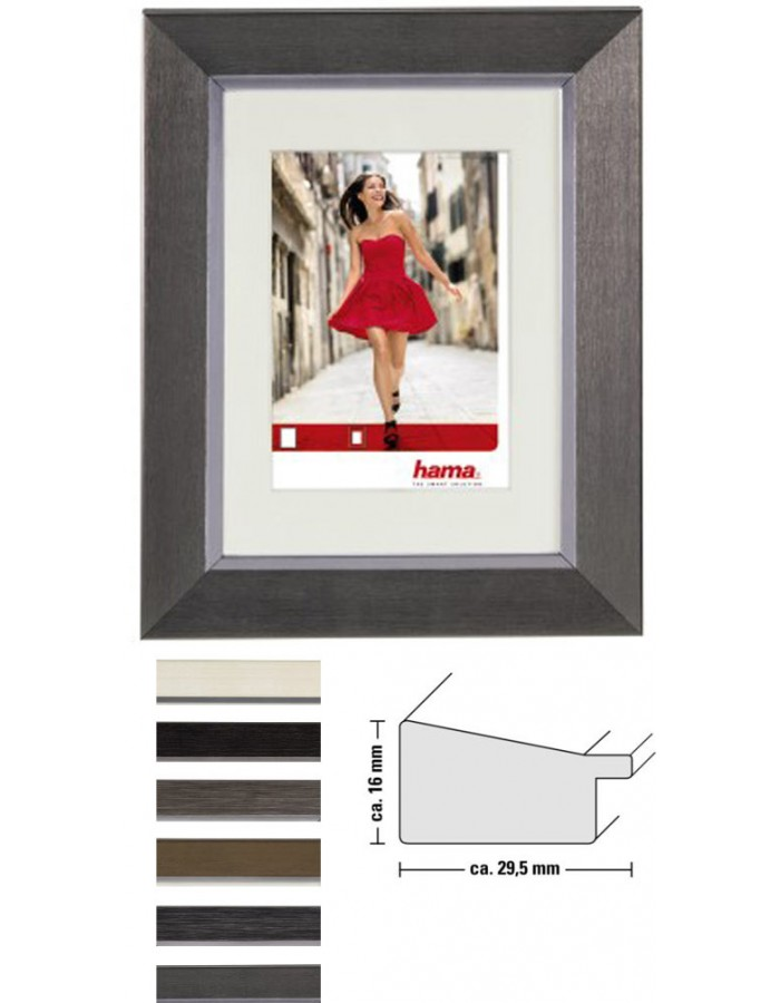 Porto plastic frame with mat