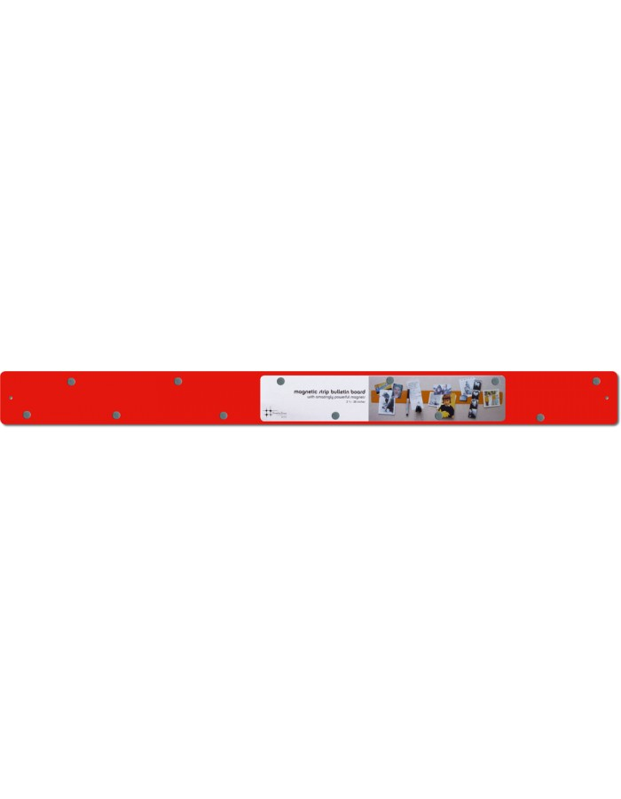 Bright red magnetic bar Strips 28x2.4