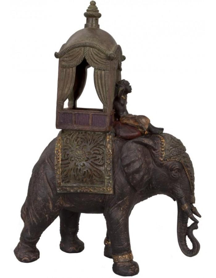 orientalsicher Elefant 23x11x33 cm Clayre Eef | fotoalben-discount.de