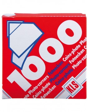 1000 Photo corners KLS