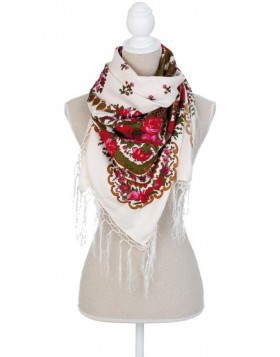 100x100 cm synthetic scarf SJ0557 Clayre Eef