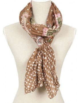 100x180 cm synthetic scarf SJ0373BGR Clayre Eef