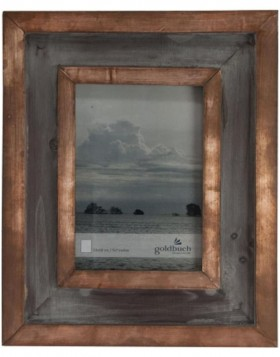 RUSTICAL photo frame 13x18 cm bronze