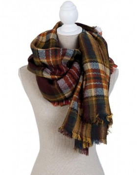 140x140 cm synthetic scarf SJ0679Y Clayre Eef