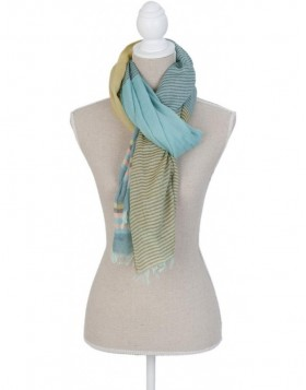 180x70 cm synthetic scarf SJ0674GR Clayre Eef