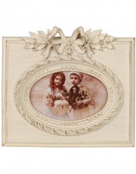 Ribbon picture frame 2610 4x6 white
