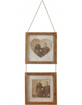 2613 gallery frame with cord 2x 10x10 cm