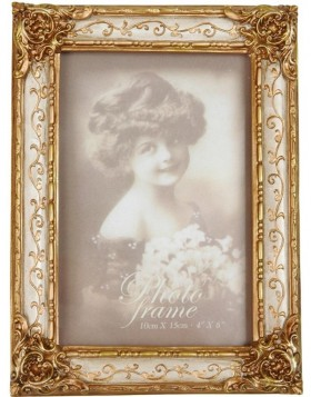 Gold picture frame 2723  10x15 cm wood