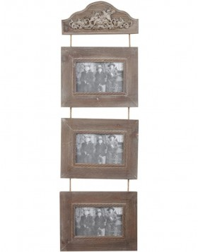 2839 antique style gallery frame 3 pictures