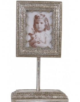 2954 picture frame silver baroque 6,5x9 cm
