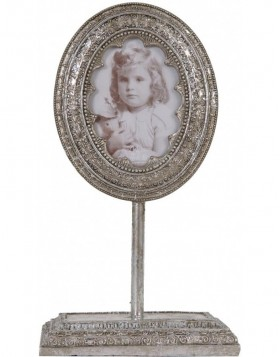 2955 picture frame silver baroque 6,5x9 cm