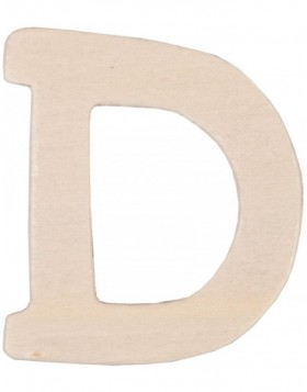 set of 3 letters D, 62296-D Clayre Eef