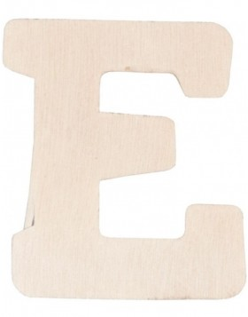 set of 3 letters E, 62296-E Clayre Eef