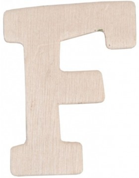set of 3 letters F, 62296-F Clayre Eef