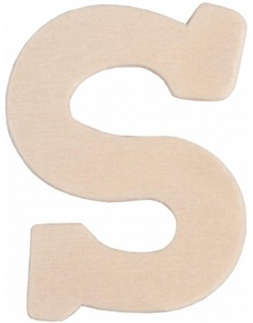 set of 3 letters S, 62296-S Clayre Eef