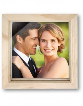 30x30 cm photo box with frame