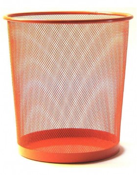 paper bin by officional orange