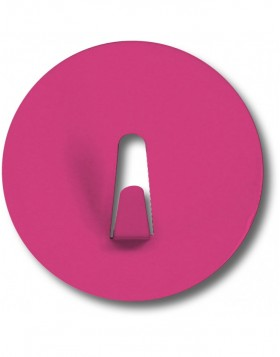 Pink Spot On magnetic hooks pack of 4