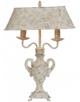 40546N Clayre Eef table lamp 40x18x54 cm