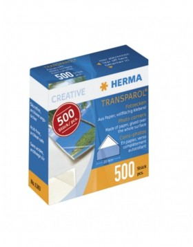HERMA Transparol photo corners dispenser pack 500 pcs.