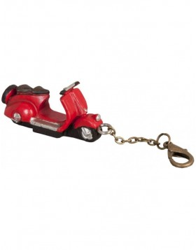 5x2 cm key chain red